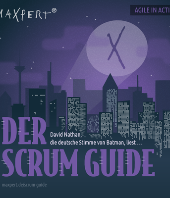Cover des Scrum Guide-Hörbuchs