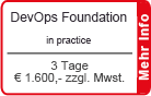 "DevOps Foundation inkl. DevOps Simulation ""The Phoenix Project"" 