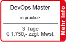 DevOps Master inkl. DevOps Simulation | Maxpert Trainings