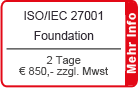 ISO/IEC 27001 Foundation Schulung München
