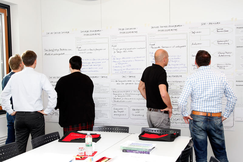Impressionen ITIL Expert Capability Schulung Maxpert GmbH.