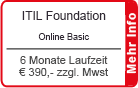 "ITIL Foundation Online Training ""Basic"" 