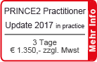 PRINCE2 2017 Practitioner Training | Frankfurt