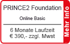 "PRINCE2 Foundation Online Training ""Basic"" 