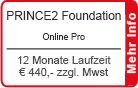 "PRINCE2 Foundation Online Training ""Pro"" 