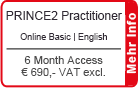 "PRINCE2 Practitioner Online Training English ""Basic"" 