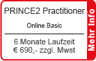 "PRINCE2 Practitioner Online Training ""Basic"" 