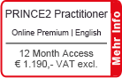 "PRINCE2 Practitioner Online Training English ""Premium"" 