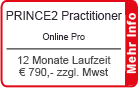 "PRINCE2 Practitioner Online Training ""Pro"" 