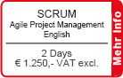 SCRUM for Agile Project Management English