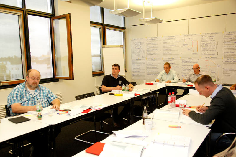Impressionen M_o_R - Management of Risk Training | Maxpert GmbH