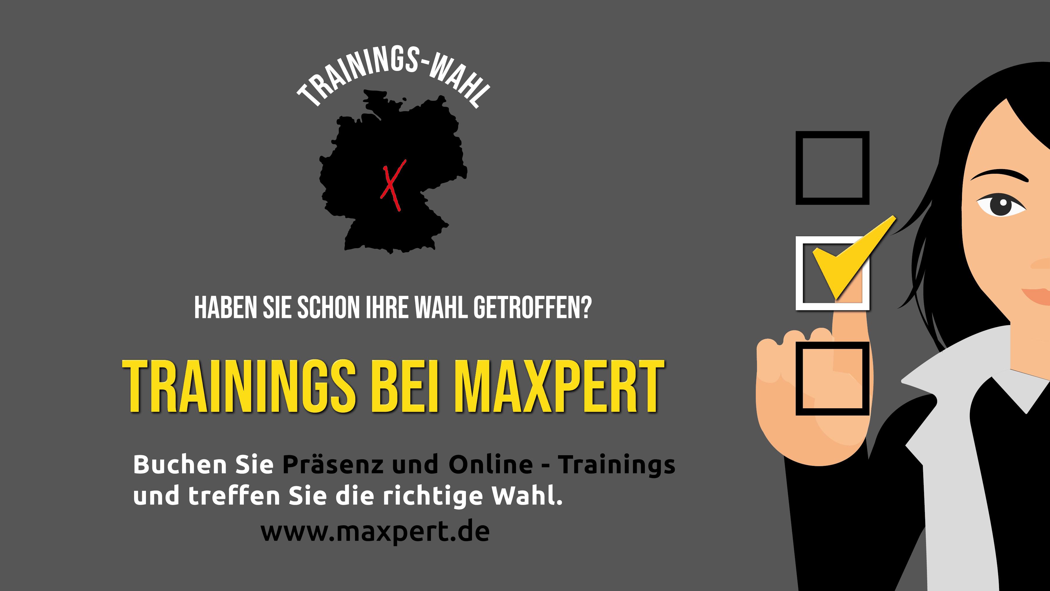 Wahl bei Maxpert