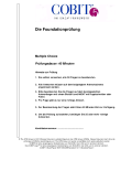Sample Paper | COBIT 5 Foundation (Deutsch)
