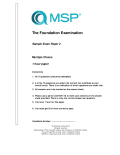 Sample Paper 2 | MSP Foundation (English)